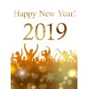 Glowing, Peoples Celebrate 2019 Happy New Year Photo image #47303
