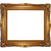Download Free High-quality Frame Gold  Transparent Images image #28904