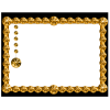 Frame Gold  Available In Different Size image #28909