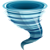 Gray And Metal Blue Nature Event Tornado Transparent Background image #47564