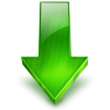 Green Arrow Down Icon thumbnail 6705