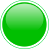 Green Button Icon image #21071