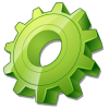 Green Gear Icon image #2242