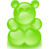 Green Gummy Bear image #30422