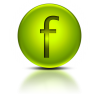 Green Letter F Icon image #13258