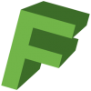 Green Letter F Icon image #13243