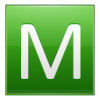 Green Letter M Icon image #10571