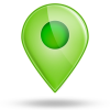 Green Location Icons image #4238