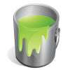 Green, Paint Icon image #3860