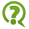 Green Question Mark Icon  Clipart image #41640