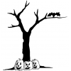 Halloween Tree  Transparent Background Hd image #32625