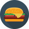 Vector Hamburgers Icon image #5952