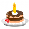 Birthday Cake Vector image #16540