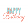 Use These Happy Birthday Vector Clipart image #29893