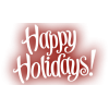 Background Transparent Happy Holidays image #34714