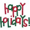 High Resolution Happy Holidays  Icon image #34724