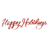 Happy Holidays Icon Download image #34702