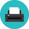 Hardware Laser Printer Icon image #16530