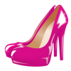 Hd Heels Pink  Transparent Background image #46805