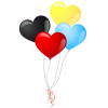 Heart Balloons Icon thumbnail 16177
