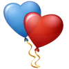 Hearts Balloons Icon image #16199