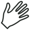 Icon Symbol Helping Hand image #14605