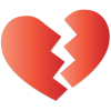 High-quality Broken Heart Transparent Image image #45709