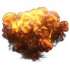 High Resolution Explosion Transparent  Icon image #45925