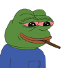 High Resolution Pepe Smoke  Clipart image #45774