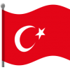 High Resolution Turkey Flag  Icon image #45681