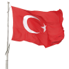 High Resolution Turkish Flag Clipart image #45695