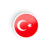 High Resolution Turkish Flag  Clipart image #45671