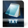 Home > Icons > File Type > Black Pearl Files > Txt File Icon image #1205