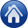 Home, Circle, Button, Free Icon image #40409