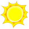 Hot Summer Sun Icon image #36040