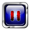 Icon Blue Multimedia Pause image #3971