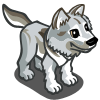 Image  White Wolf Icon   Farmville Wiki  Seeds, Animals image #2867