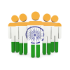 Indian Flag Icon Free Image image #21350