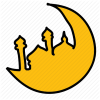 Islam, Islamic, Moon, Ramadan Icon image #42069