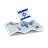 Israel Flag Transparent  Free Download image #46003