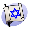 Judaism Flag Icon image #43552