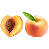 Large Peach Clipart Image image #41704