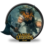 League Of Legends Icon Vector image #36810