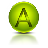Free High-quality Letter A Icon image #8852