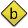 Vector Letter B Icon image #8879