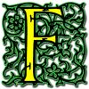 Letter F Transparent Icon image #13266