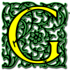 Letter G Icon Drawing image #21716