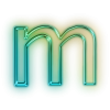 Download Icon Letter M image #10556