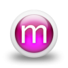 Letter M Download Icon image #10574