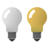 Light Bulb On Off Icon image #26008